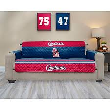 Bed Bath And Beyond Couch Covers by Mlb St Louis Cardinals Sofa Cover Bed Bath U0026 Beyond