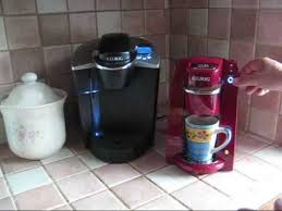 A Demonstration Of The Keurig B30 Mini K Cup Coffee Maker