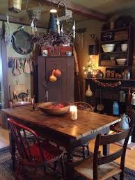 Primitive Kitchen Decorating Ideas Lovely 1944 Best Prim Colonial Kitchens And Diningrooms Images On Of