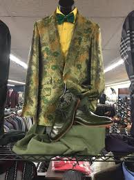 Floral Sport Coat Store Display