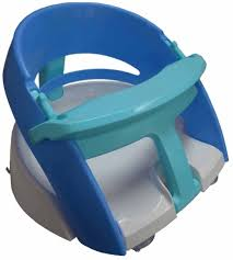 dreambaby bath seat deluxe blue baby bunting