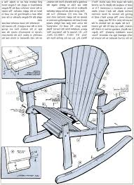 Adirondack Rocking Chair Woodworking Plans by Adirondack Rocking Chair Plans Chairs Home Decorating Ideas