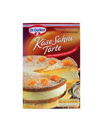 dr oetker backmischung käse sahne torte 385 g