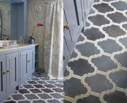 popham design cement tiles in morocco bathroom turquoise floor
