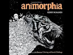 Flip Through Animorphia Coloring Book By Kerby Rosanes