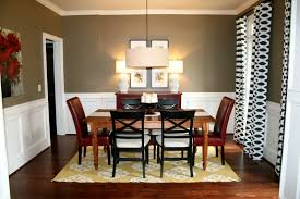 Dining Room Wall Paint Ideas Tall Wooden Counter Height Farmhouse Table Wingback On Floor