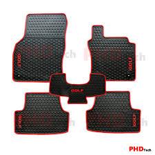 100 Heavy Duty Truck Floor Mats Volkswagen All Weather Rubber 3pcs Car Mat