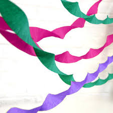 Crepe Paper Streamer By Peach Blossom