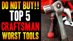 100 Sears Truck Tool Boxes Top 5 WORST Craftsman S DO NOT BUY YouTube