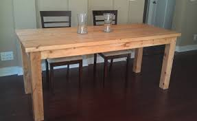 Diy Simple Wooden Desk by How To Build A Dining Room Table 13 Diy Plans Guide Patterns