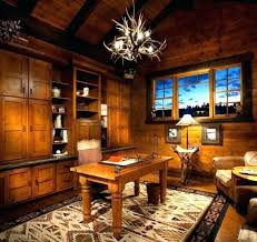 Rustic Office Decor Astounding Ideas Home With Regard To Simple