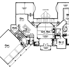 Chateau Floor Plans 1 5 Story Traditional House Plan Dupont Chateau 4 Bedroom
