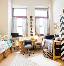 Bedroom Simple Modern Dorm Room Design