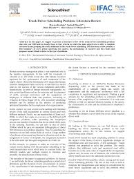 PDF) Truck Driver Scheduling Problem: Literature Review 2007 Toyota Dyna Truck 4 Ton With Papers No Keys Extra Volvo Truck Paper Ide Dimage De Voiture 16 Ton Trailer For Sale With Papers Junk Mail Trucking Industry In The United States Wikipedia Chapter 3 Literature Review Alternative And Bus Inspection 2011 Sa Body 34 Side Tipper Roadworthy And Pin By Max C On Dump Trucks Pinterest Truck Plagiarism Free Graduate Writing Service Driver Resume Inspirational Briefing Papers Indiana University Jordan Sales Used Inc Jed Alexander End Vtg 1940s To 1950s Gmc Envelopes 1868905203