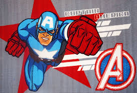 Captain America Rug Awesome Beds 4 Kids