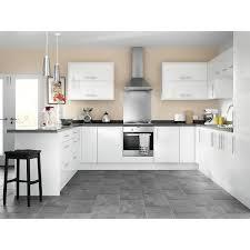 Orlando White Gloss 8 Unit Kitchen Range Travis Perkins
