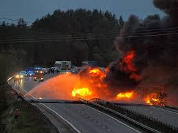100 Truck Explosion In Kungalv Sweden 20111