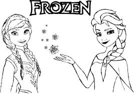 Disney Frozen Giant Coloring Book Magic Page Pages Printable Free