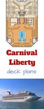 Carnival Conquest Deck Plans by Carnival Liberty Deck Plans Cruise Radio