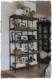 Turning The Vittsj Shelving Rustic And Industrial