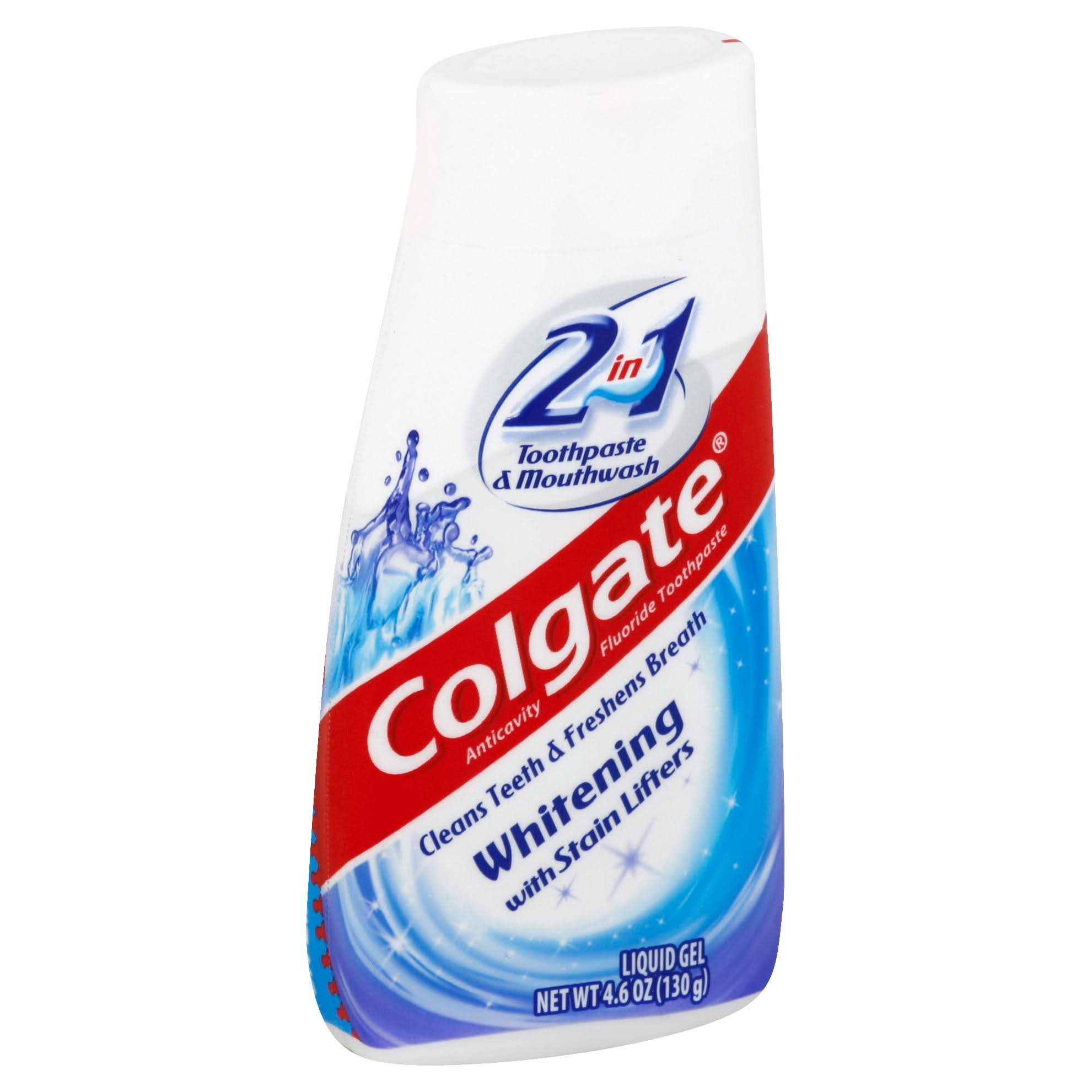 Colgate 2 in 1 Toothpaste and Mouthwash Liquid Gel - 4.6oz