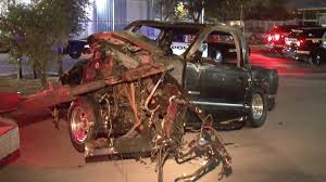 100 Truck Wrecks Videos Man Killed Two Injured After Truck Crashes Into Tree Houston