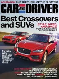 Car and Driver Magazine November 2016 Edition Texture