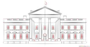 Full Size Of Coloring Pagesamazing White House Drawing Page Pages Endearing