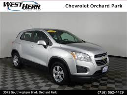 100 West Herr Used Trucks 2016 Chevrolet Trax For Sale In Hamburg NY Near Buffalo