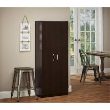 Ameriwood Pantry Storage Cabinet by Systembuild Furniture Storage Cabinet In Black Forest Finish By