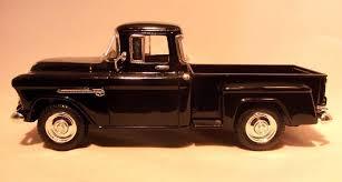 Vintage 1955 Chevrolet Stepside Pickup Truck 1/24 DieCast Model 55 ...