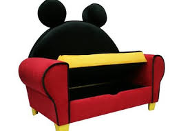 Mickey Mouse Flip Open Sofa by 52 Mickey Mouse Sofa Chair Accent Chair Kids Upholstered Chair