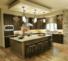 kitchen room simple two light kitchen island lighting
