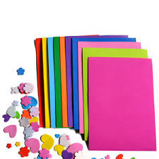Image Is Loading 10Pcs Pack EVA Foam Sheets Handmade Paper Fun