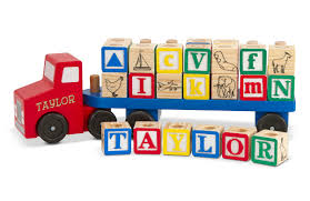 Melissa & Doug Personalized Alphabet Truck | Personalized Planet Melissa Doug Big Truck Building Set Aaa What Animal Rescue Shapesorting Alphabet What 2 Buy 4 Kids And Wooden Safari Carterscom 12759 Mega Racecar Carrier Tractor Fire Indoor Corrugate Cboard Playhouse Food Personalized Miles Kimball Floor Puzzle 24 Piece Beep Cars Trucks Jigsaw Toy Toys For 1224 Month Classic Wood Radar