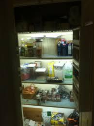 led pantry lights 8 steps