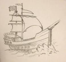 100 Design A Pirate Ship Pencil Sketch Pirate Ship In 2019 Sketches Nautical