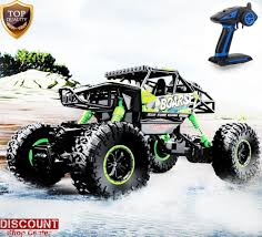 RC Racing Car Monster Truck Remote Control Electric OFFRoad 4WD ... Amazoncom Velocity Toys Jeep Wrangler Remote Control Rc Truck Big Cars Trucks Hukoer Car Top Selling 24ghz 112 Scale High Speed Babrit F11 24ghz 2wd Fstgo 118 Metal Shell Offroad Vehicles 24 Rc 24g 20kmh Racing Climbing Us Intey Amphibious 4wd Off Road Officially Licensed Nfl Monster For 3499 2 In 1 Forklift Crane Rtr For Boys Grave Digger And 50 Similar Items Semi Australia Fancy Adults Best