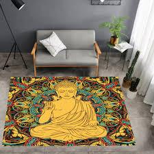3d print buddhistischen indien teppich buddha religion boden matte fußmatte küche boden teppich hause textil teppiche gold teppich im freien teppiche