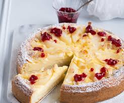 birnen schmand torte