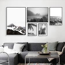 günstige poster und drucke cuadros berg meer landschaft