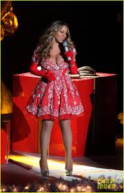 Nbc Christmas Tree Lighting 2014 Mariah Carey by Mariah Carey Rockefeller Christmas Tree Lighting Performance