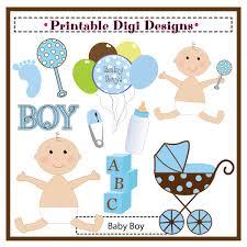 Boy Baby Shower Clipart