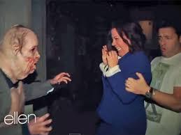 Universal Studios Halloween Haunted House by Ellen Degeneres Freaks Out Staffers By Sending Them To U0027walking