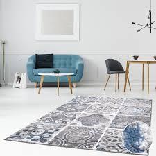 teppich flachflor läufer inspiration in verschiedenen designs modern vintage pastellfarben wohnzimmer schlafzimmer