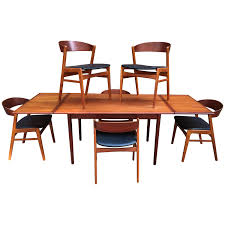 DUX Danish Modern Teak Dining Room Set Danish Teak Extension Ding Table Style Kitchen Appliances Tips And Review Noden Scdinavian Vintage Fniture Chairs At 1stdibs Modern Teak Ding Chairs Chair Restoration 1960s Set Of 6 La102248 Vintage In By Erik Buch 4 For Od Mbler Denmark Midcentury Leather Niels Otto Mller Roped Ladder Back Mid Century