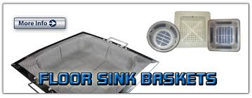 triple protection for floor sinks drains