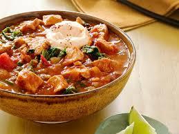 Paleo Pumpkin Chicken Chili by Pork And Pumpkin Chili Recipe Food Network Kitchen Food Network