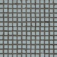 worn seamless texture of small square tiles in light blue tone