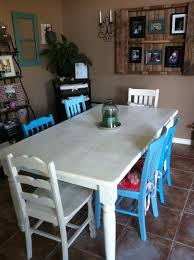 How To Refinish A Dining Room Table With Good Color Choice